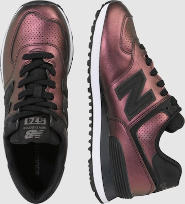 cheap for discount 15e47 1d40e new new balance Sneakers laag 'WL574-KSB-B' in Donkerlila ...