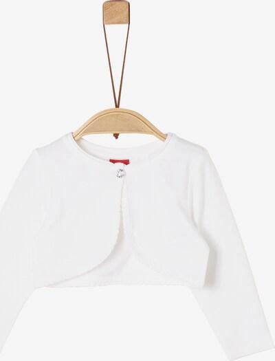 s.Oliver Bolero in weiß, Produktansicht