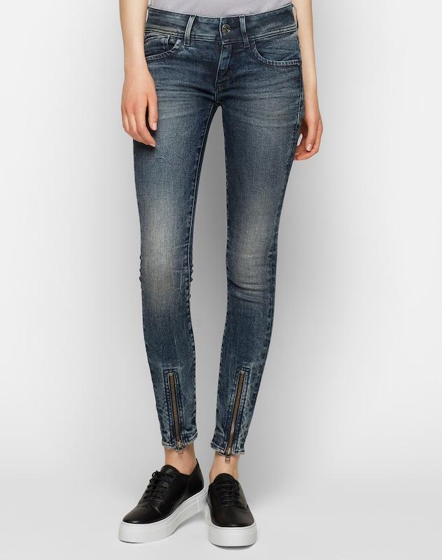 G-STAR RAW 'Lynn Zip Grip Mid Skinny Wmn' Jeans