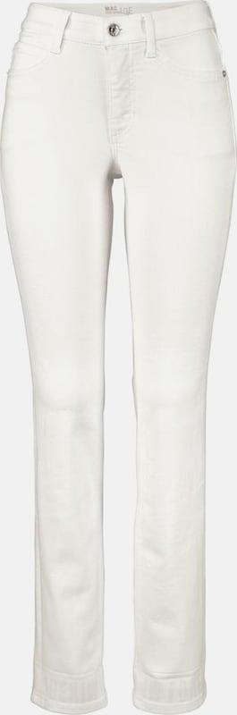 MAC 7 8-Jeans 'Angela True Paradise' in weiß  Großer Rabatt