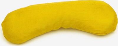YOGISTAR.COM Augenkissen 'Bio-Kamille + Bio-Leinsamen' in senf, Produktansicht