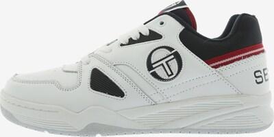 Sergio Tacchini Sneaker 'Top Play LTH' in dunkelrot / schwarz / weiß, Produktansicht