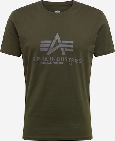 ALPHA INDUSTRIES T-Shirt en olive: Vue de face