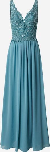 mascara Abendkleid 'LACE V' in blau, Produktansicht