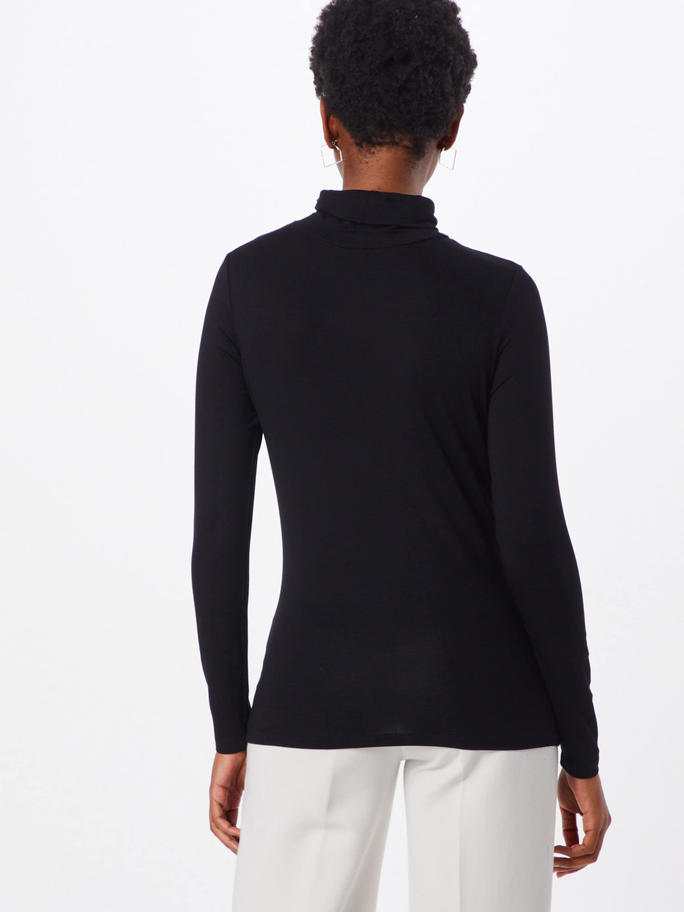 T Rollneck shirt En In Soaked Luxury Noir 'hanadi Ls' CdxeBo