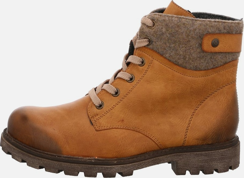 RIEKER Stiefel in senf taupe | ABOUT YOU