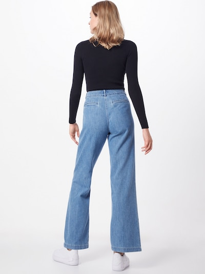 Lauren Ralph Lauren Jeans 'TRAVINA' in blue denim, Modelansicht