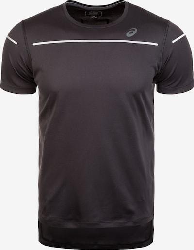 ASICS Shirt 'Lite-Show' in schwarz / weiß, Produktansicht