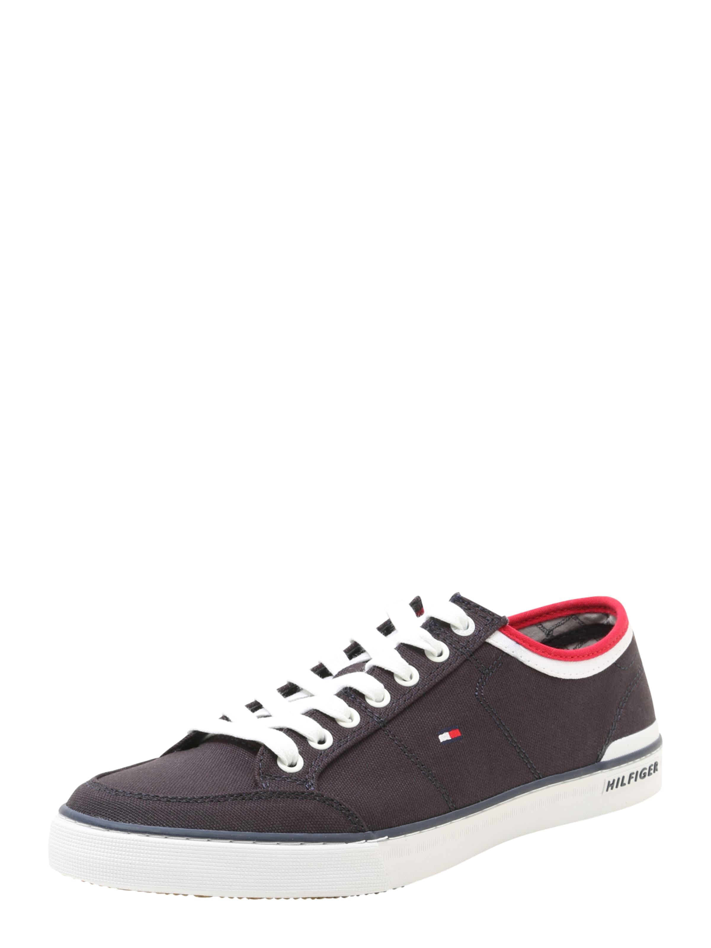 TOMMY HILFIGER Canvas-Sneaker Verschleißfeste billige Schuhe