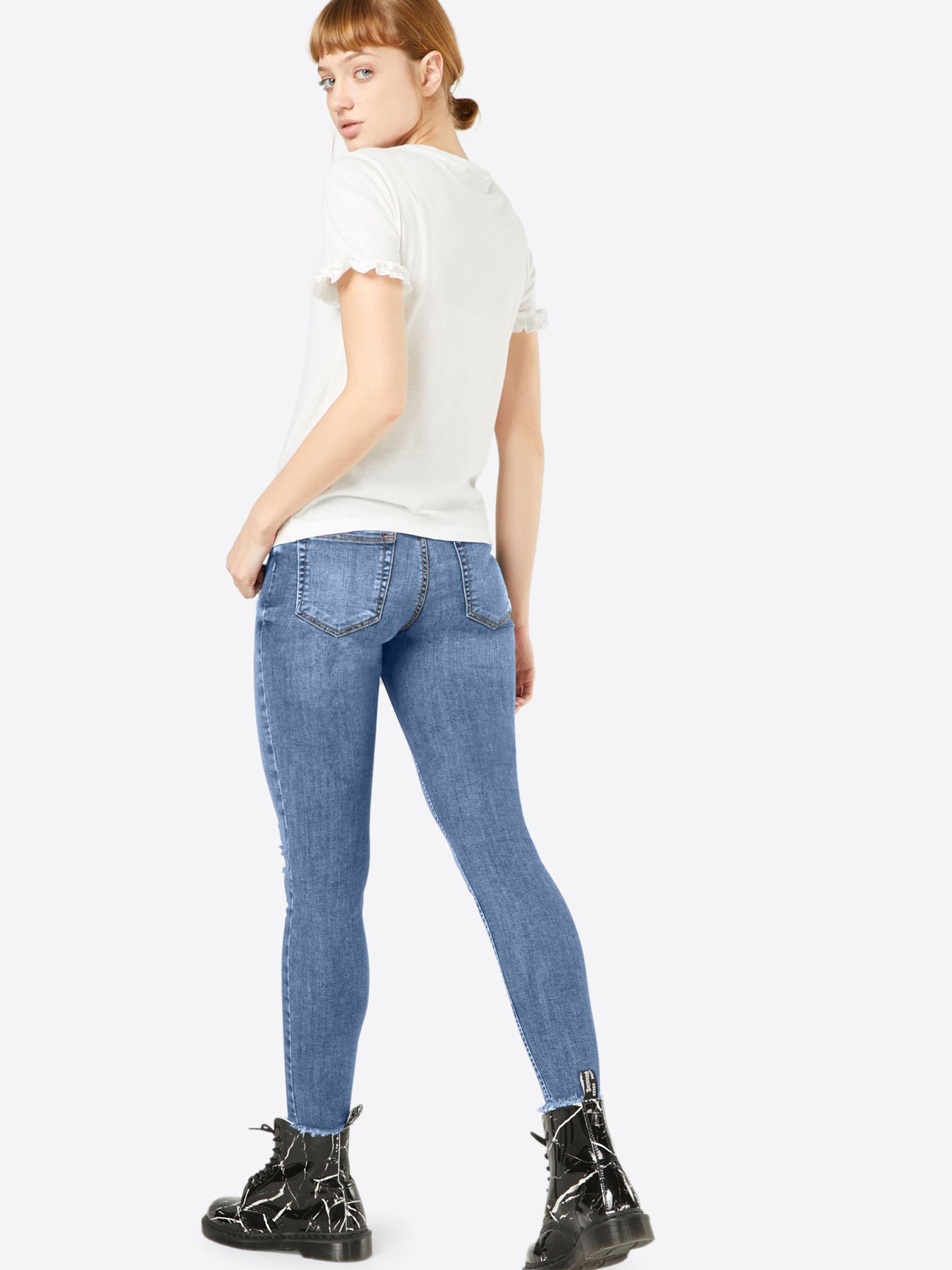 Spielraum Beste Preise PIECES Regular-Waist-Jeans Gut Verkaufen Verkauf Online ADsk7TF