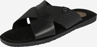base London Slipper 'LEO' in schwarz, Produktansicht