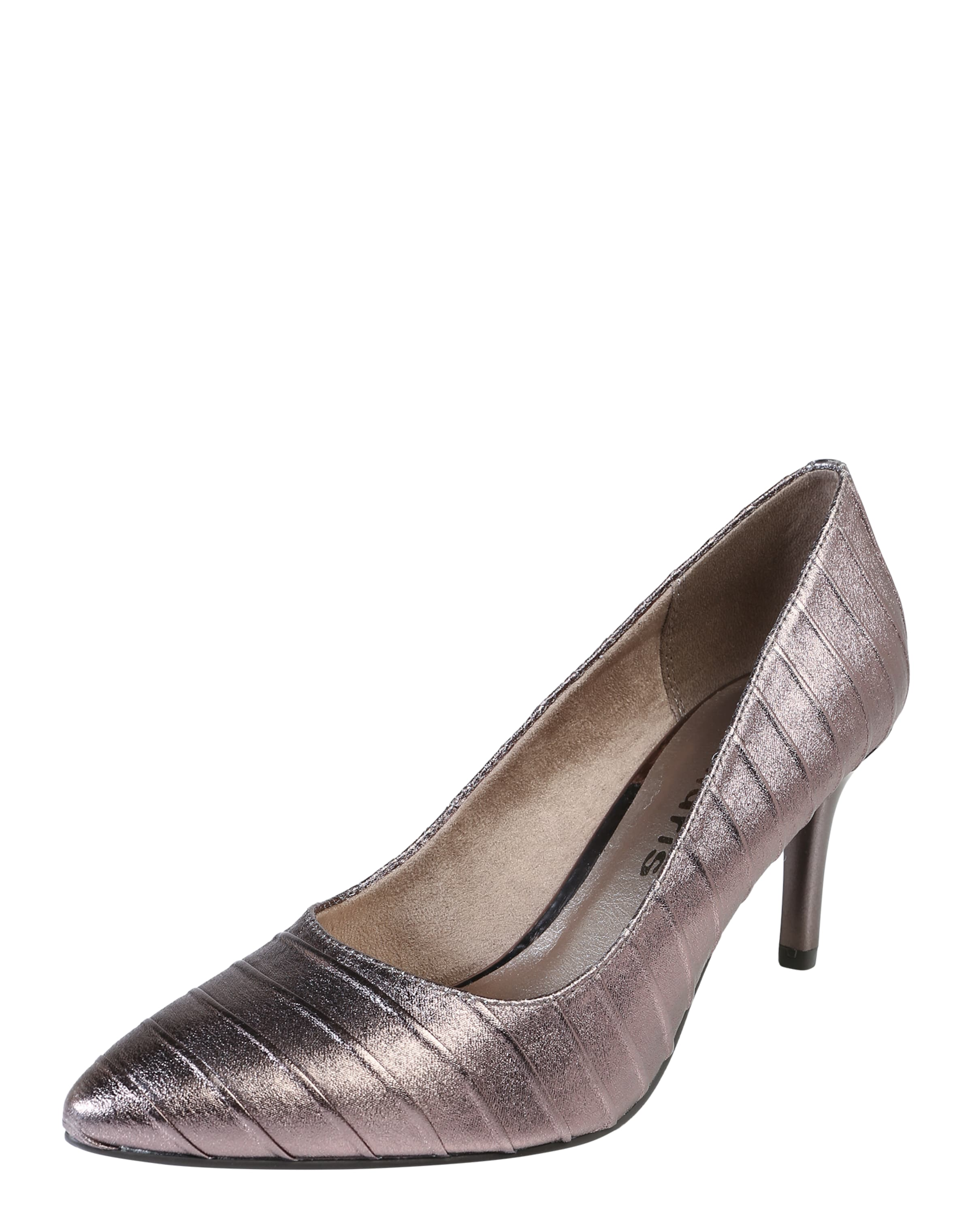 TAMARIS Pumps in Metallic-Optik Günstige und langlebige Schuhe