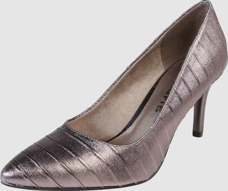 TAMARIS | Pumps in Metallic-Optik