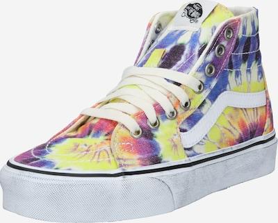 VANS Sneaker in taubenblau / gelb / lila / orangerot / weiß, Produktansicht
