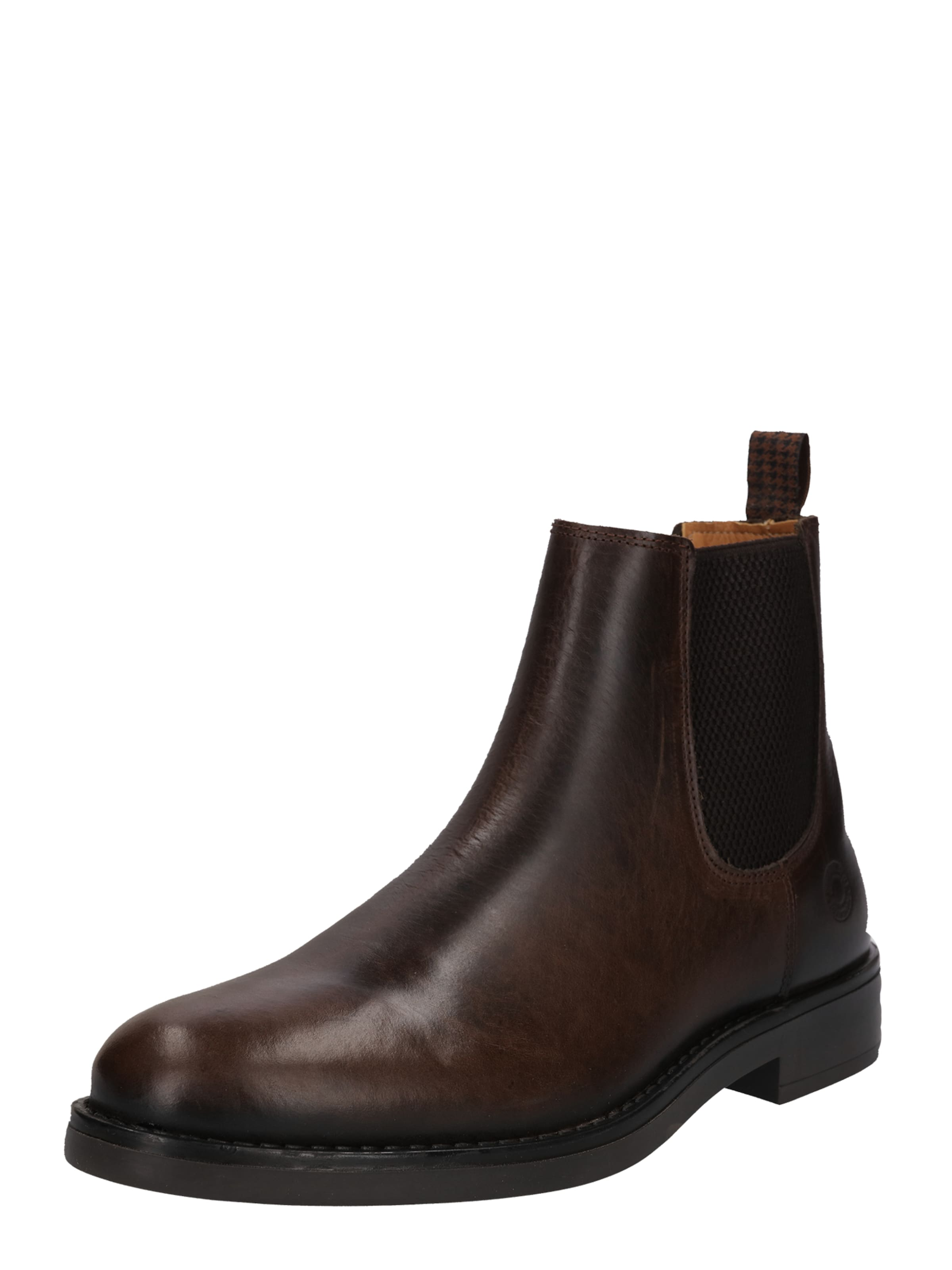 Foncé En Brun Boots Bullboxer Chelsea IqTP6