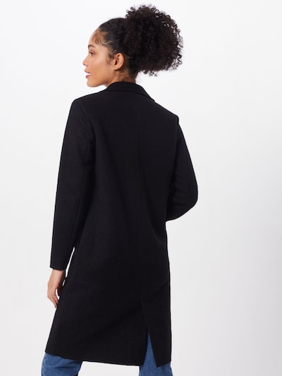 ONLY Tussenmantel 'ONLAMINA COAT' in de kleur Zwart: Achteraanzicht