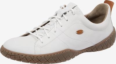 CAMEL ACTIVE Sneakers laag 'Inspiration 70' in de kleur Bruin / Wit, Productweergave