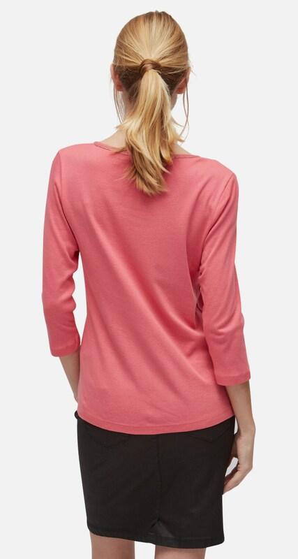 TOM TAILOR T-Shirt Shirt mit Glitzer-Ausschnitt