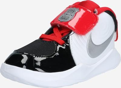 NIKE Sneaker 'Team Hustle D 9 Auto' in rot / schwarz / weiß, Produktansicht
