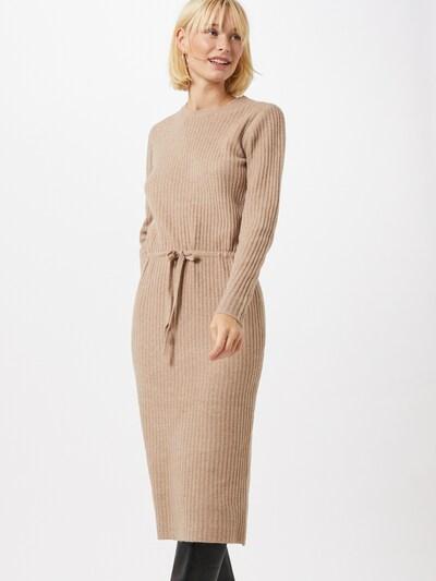 PIECES Strickkleid 'Suna' in beige, Modelansicht