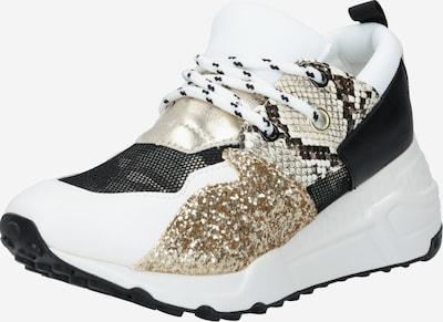 STEVE MADDEN Sneaker 'CLIF' in gold / schwarz / weiß, Produktansicht