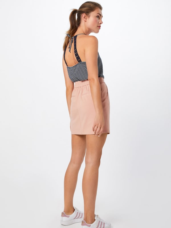 VERO MODA Rock 'VMEVA MR SHORT SKIRT NOOS' in rosa: Rückansicht