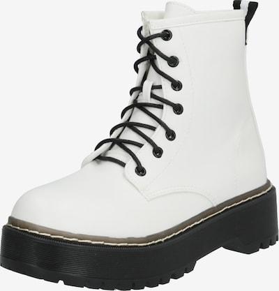 Auliniai batai 'LINA' iš Raid , spalva - juoda / balta: Vaizdas iš priekio
