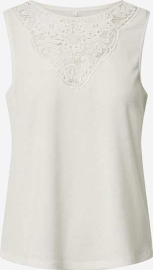 ONLY Top in creme, Produktansicht