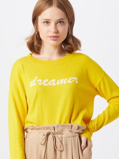 GAP Pullover in goldgelb / weiß, Modelansicht