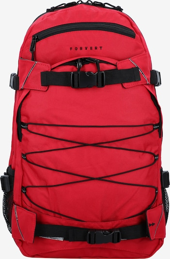 Forvert Daypack 'Louis' in rot / schwarz, Produktansicht