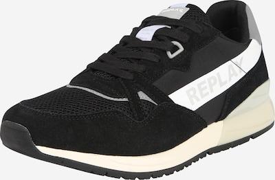 REPLAY Sneaker in grau / schwarz / weiß, Produktansicht