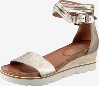 JOLANA & FENENA Sandaletten in silber, Produktansicht