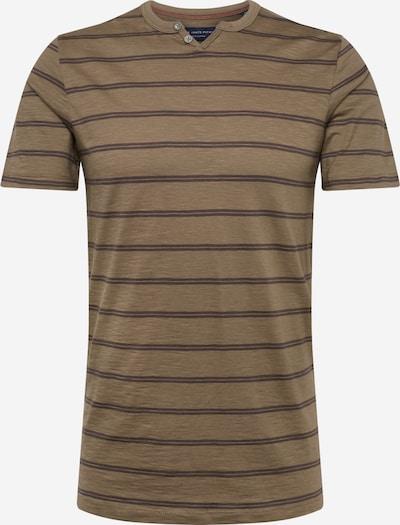 JACK & JONES Shirt  'JPRBEN STRIPE  BLU. SPLIT NECK TEE PRE' in grün, Produktansicht