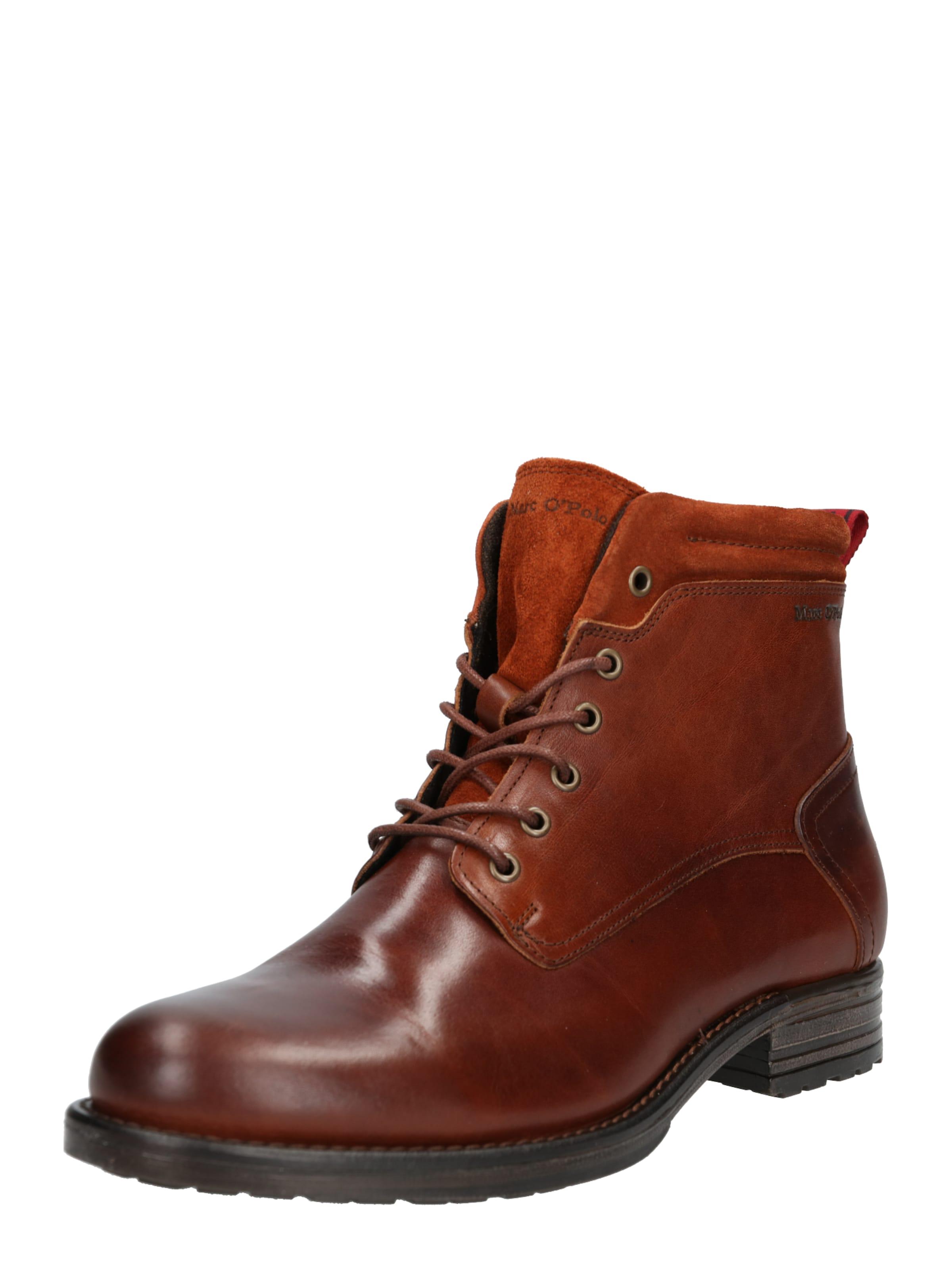 'lace' Cognac Marc O'polo In Boots O08NPXnwk