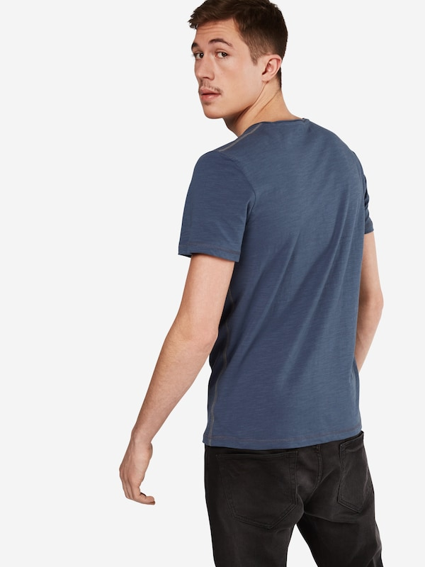 TOM TAILOR T-Shirt 'basic slub NOS'
