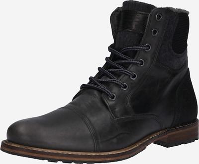 BULLBOXER Šněrovací boty - černá, Produkt