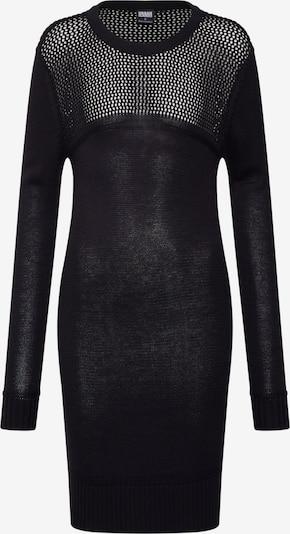 Urban Classics Robes en maille en noir: Vue de face