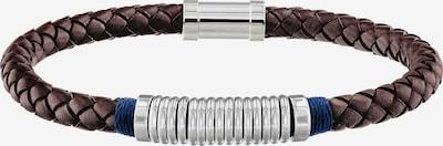 TOMMY HILFIGER Armband in de kleur Bruin / Zilver, Productweergave
