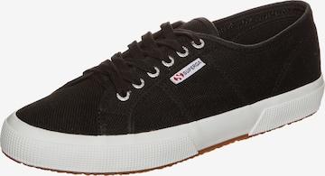 Sneaker low de la SUPERGA pe negru