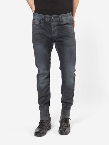 Jean '3301 Slim' G-Star RAW en gris