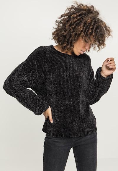 Urban Classics Curvy Sweatshirt in schwarz: Frontalansicht