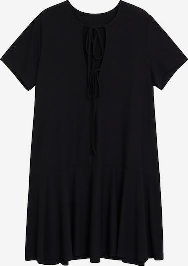 VIOLETA by Mango Kleid 'Peak' in schwarz, Produktansicht