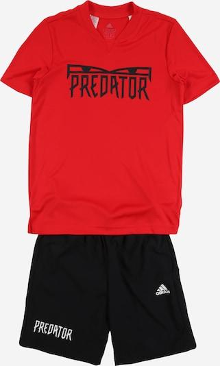 piros / fekete ADIDAS PERFORMANCE Sportruhák 'JB PRED SUM SET', Termék nézet
