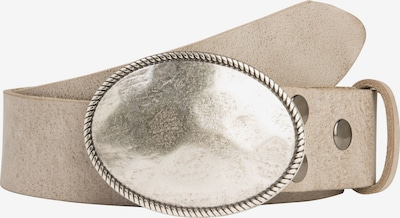 RETTUNGSRING by showroom 019° Ledergürtel in greige, Produktansicht
