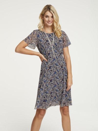 heine Kleid in blau / hellblau / grau, Modelansicht