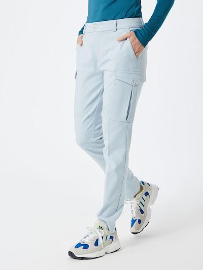 MOS MOSH Cargobroek 'Ray Twiggy' in de kleur Lichtblauw, Modelweergave