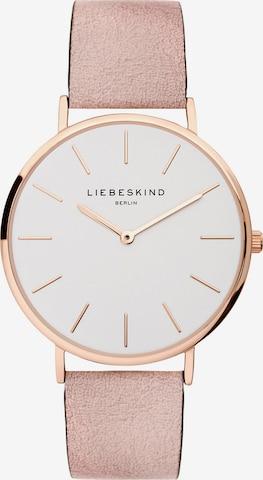 Liebeskind Berlin Analog Watch 'LT-0157-LQ' in Pink