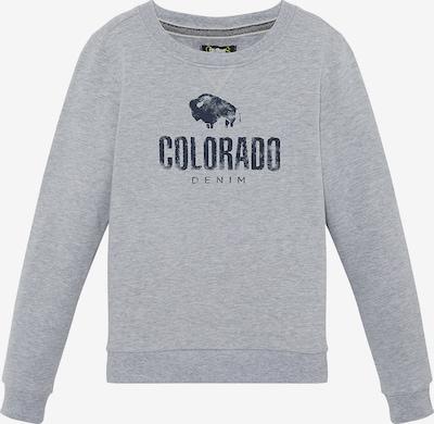 Colorado Denim Sweatshirt 'BRYCE' in nachtblau / grau, Produktansicht