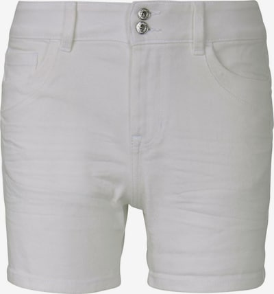 TOM TAILOR DENIM Shorts 'Cajsa' in weiß, Produktansicht