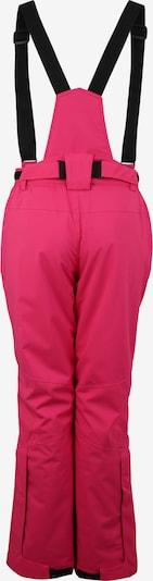 Laisvalaikio kelnės 'Erielle' iš KILLTEC , spalva - rožinė / juoda: Vaizdas iš galinės pusės